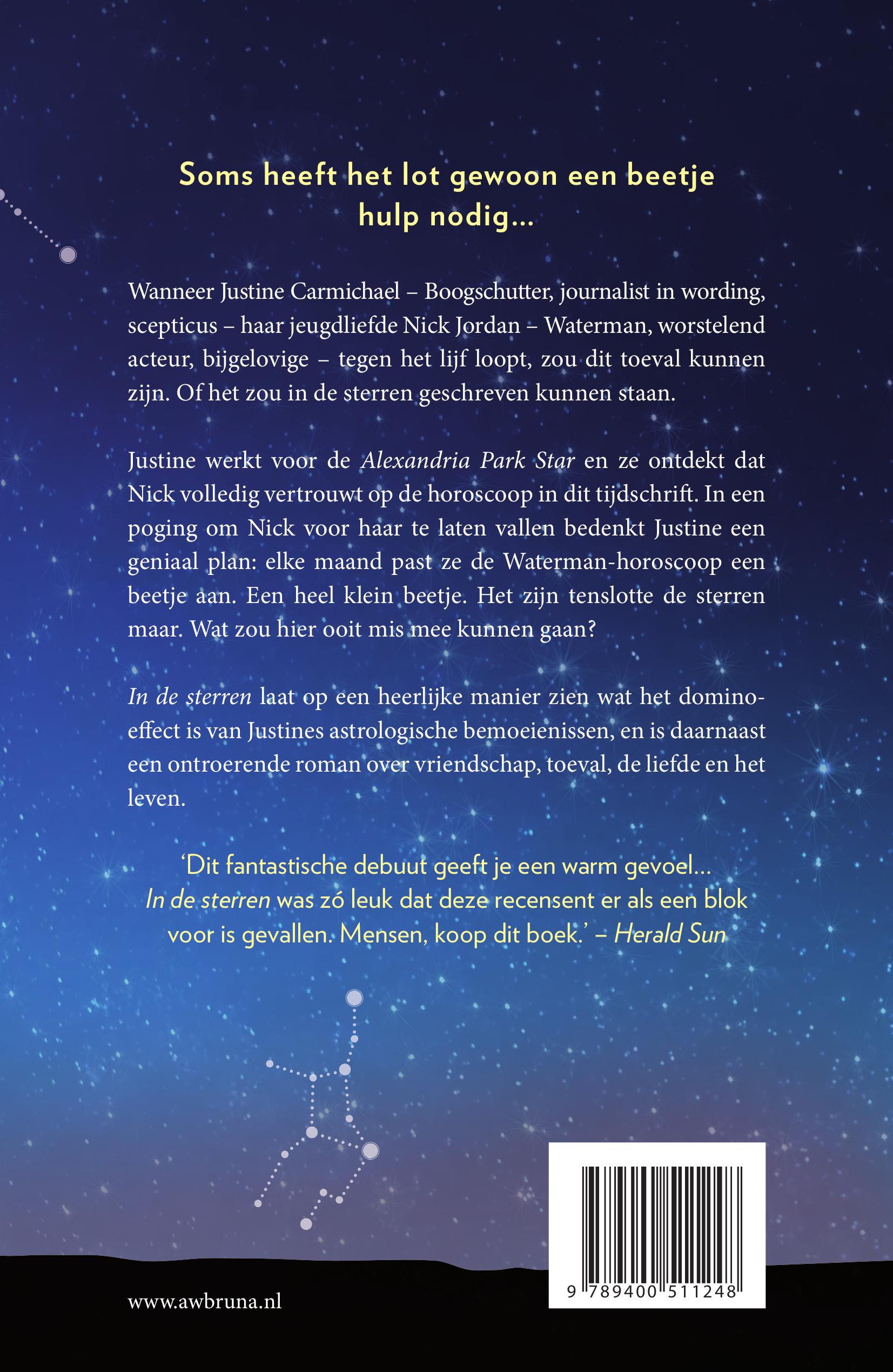 In de sterren