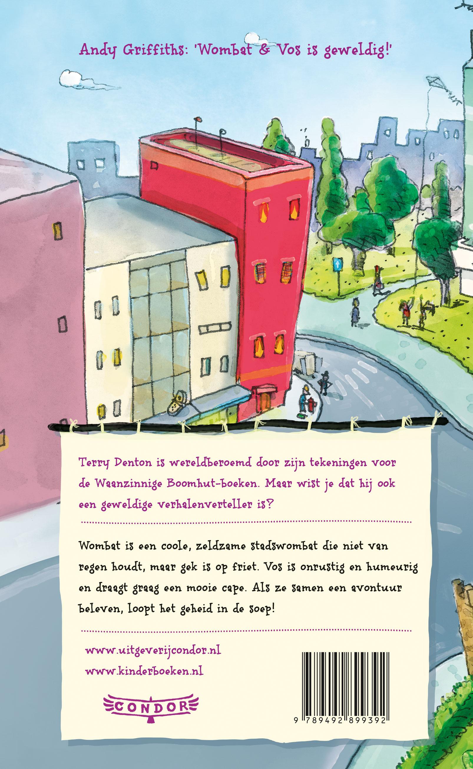 Wombat & Vos – Avonturen in de stad