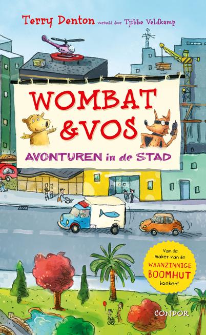 Wombat en Vos – Avonturen in de stad