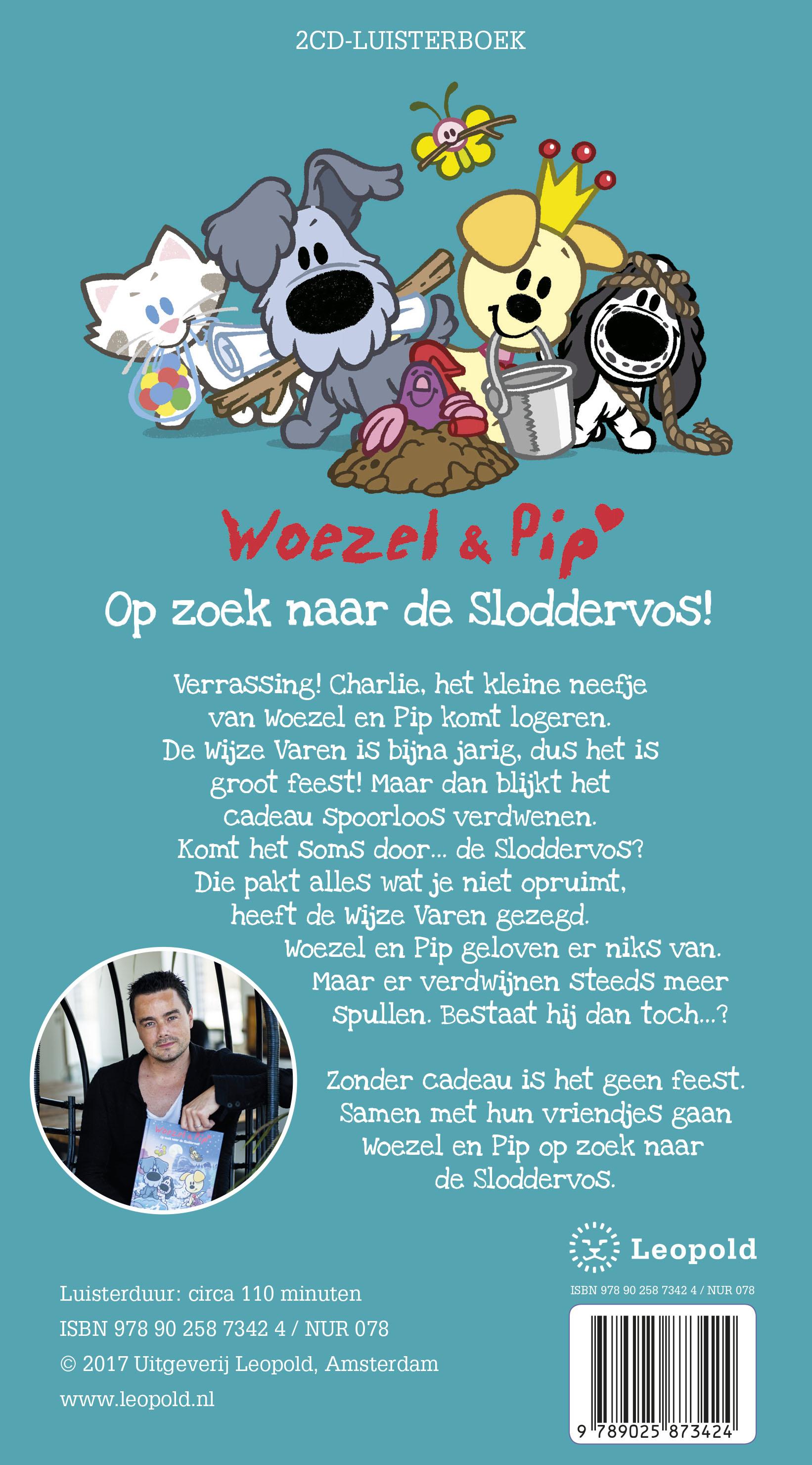 Woezel & Pip – Op zoek naar de Sloddervos!