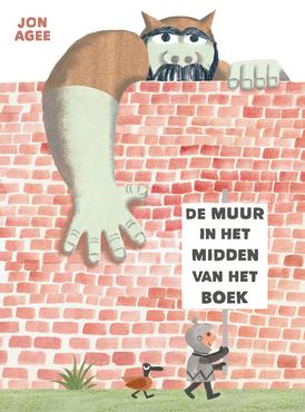 De muur in het midden van het boek