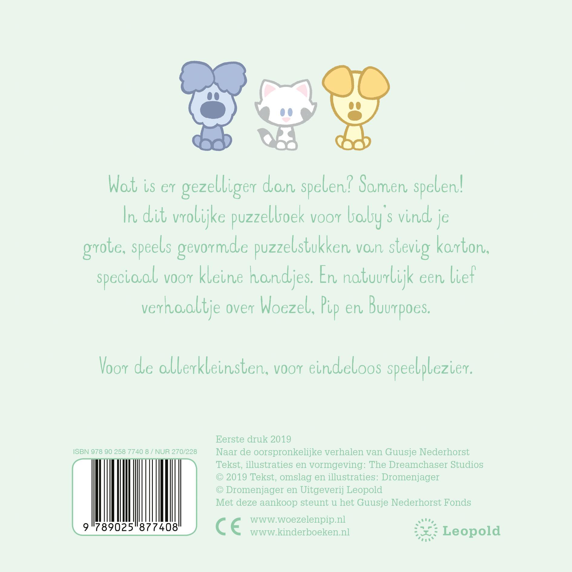 Woezel & Pip Baby – Baby's eerste puzzelboek