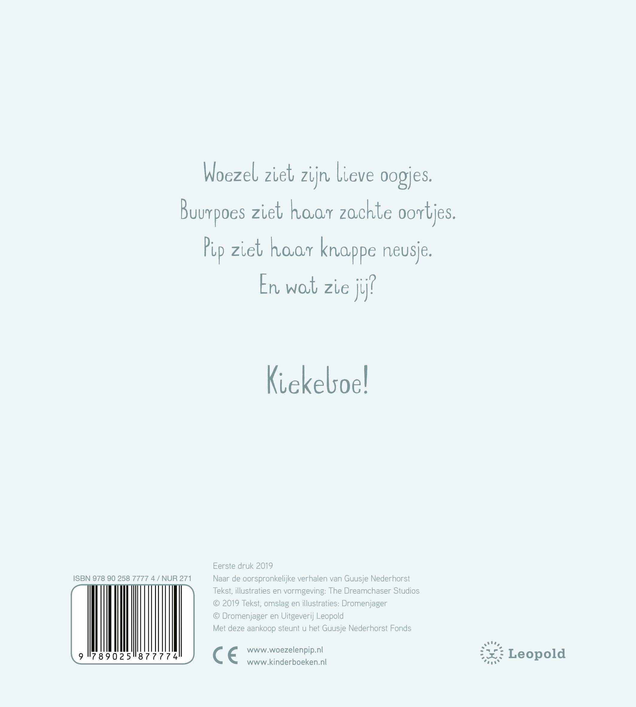 Woezel & Pip Baby – Kiekeboe!
