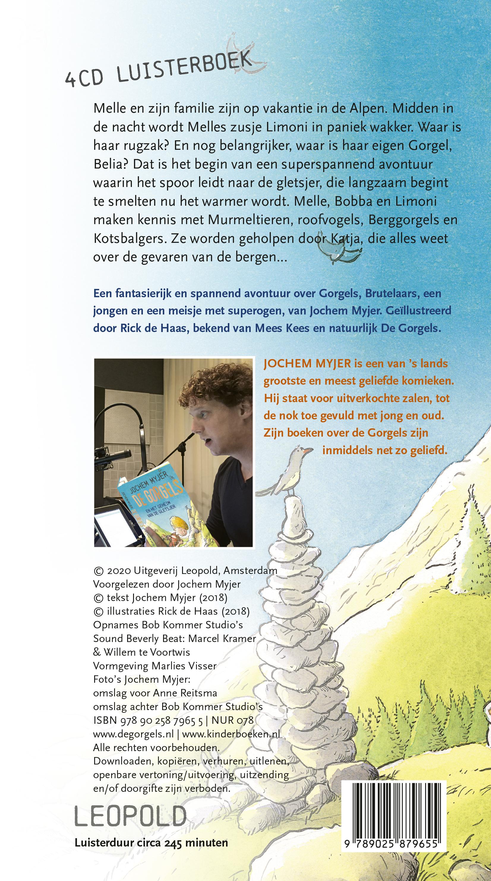 DE GORGELS en het geheim van de gletsjer [4CD]