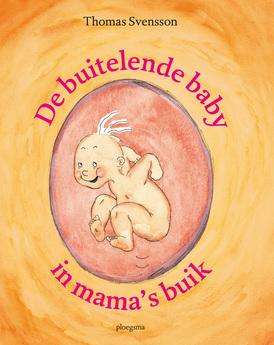 De buitelende baby in mama's buik