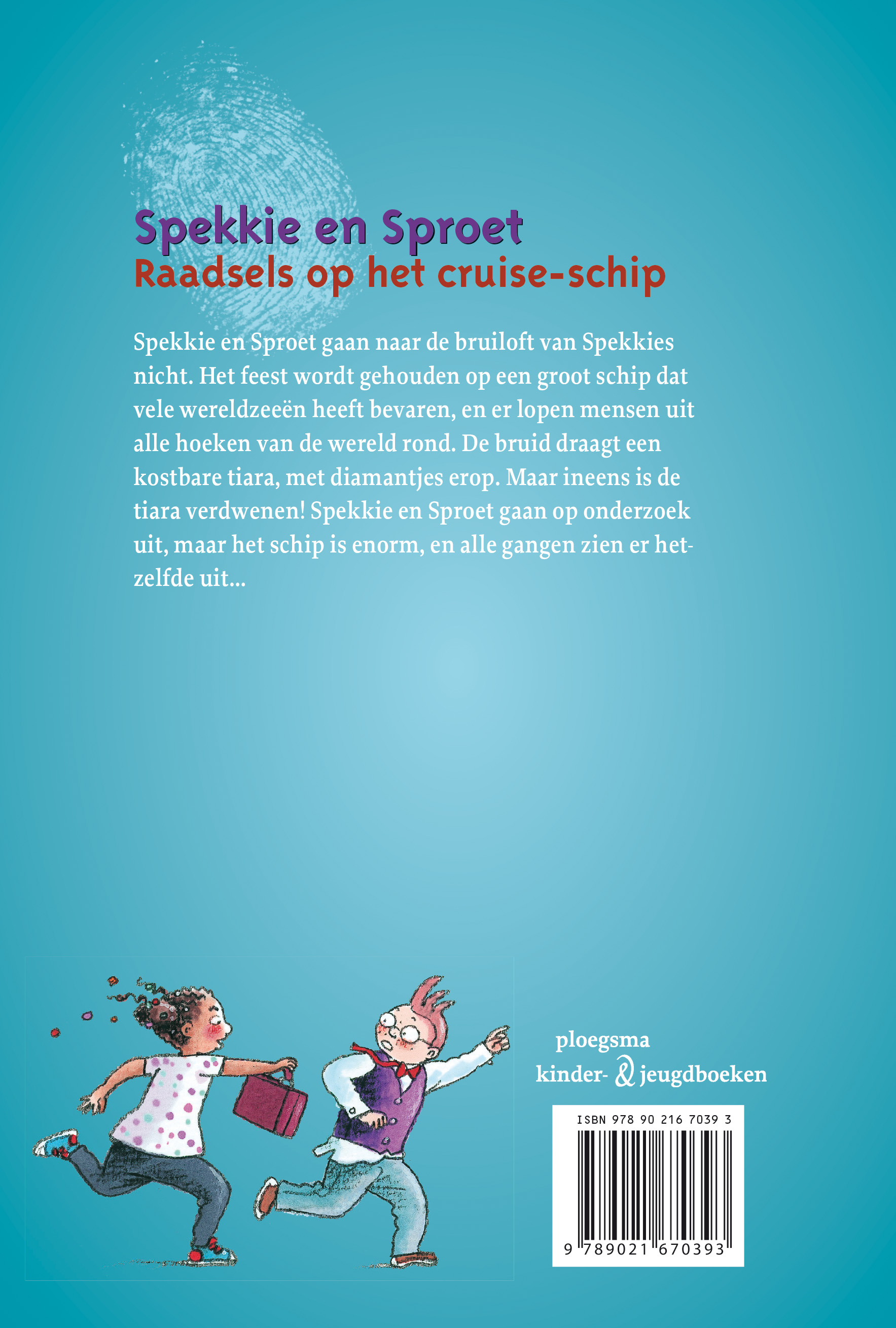 Spekkie en Sproet: Raadsels op het cruise-schip