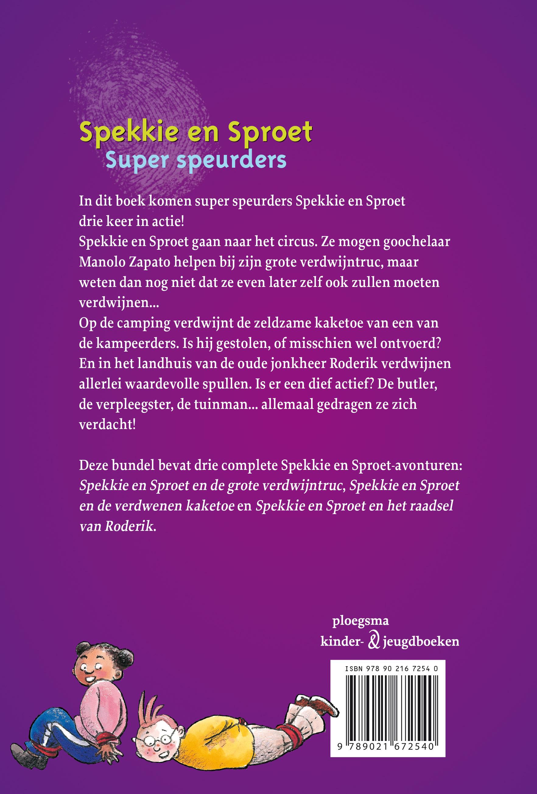 Spekkie en Sproet: Super speurders