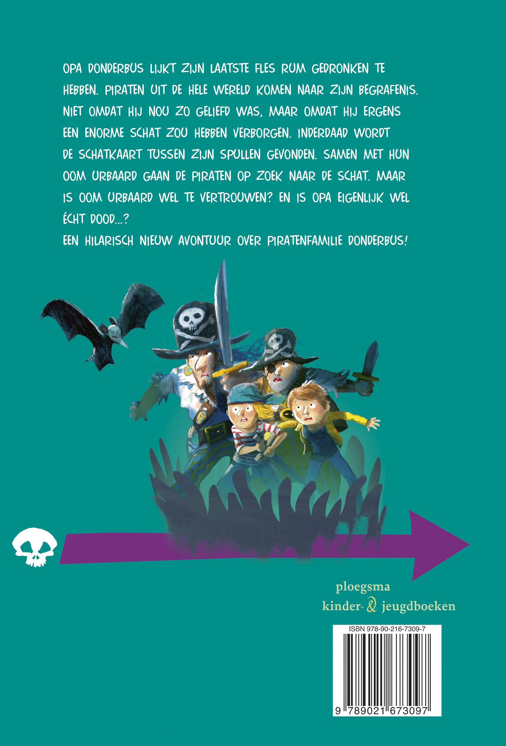 De piraten van hiernaast: Kanonnen op de camping