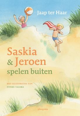 Saskia en Jeroen spelen buiten