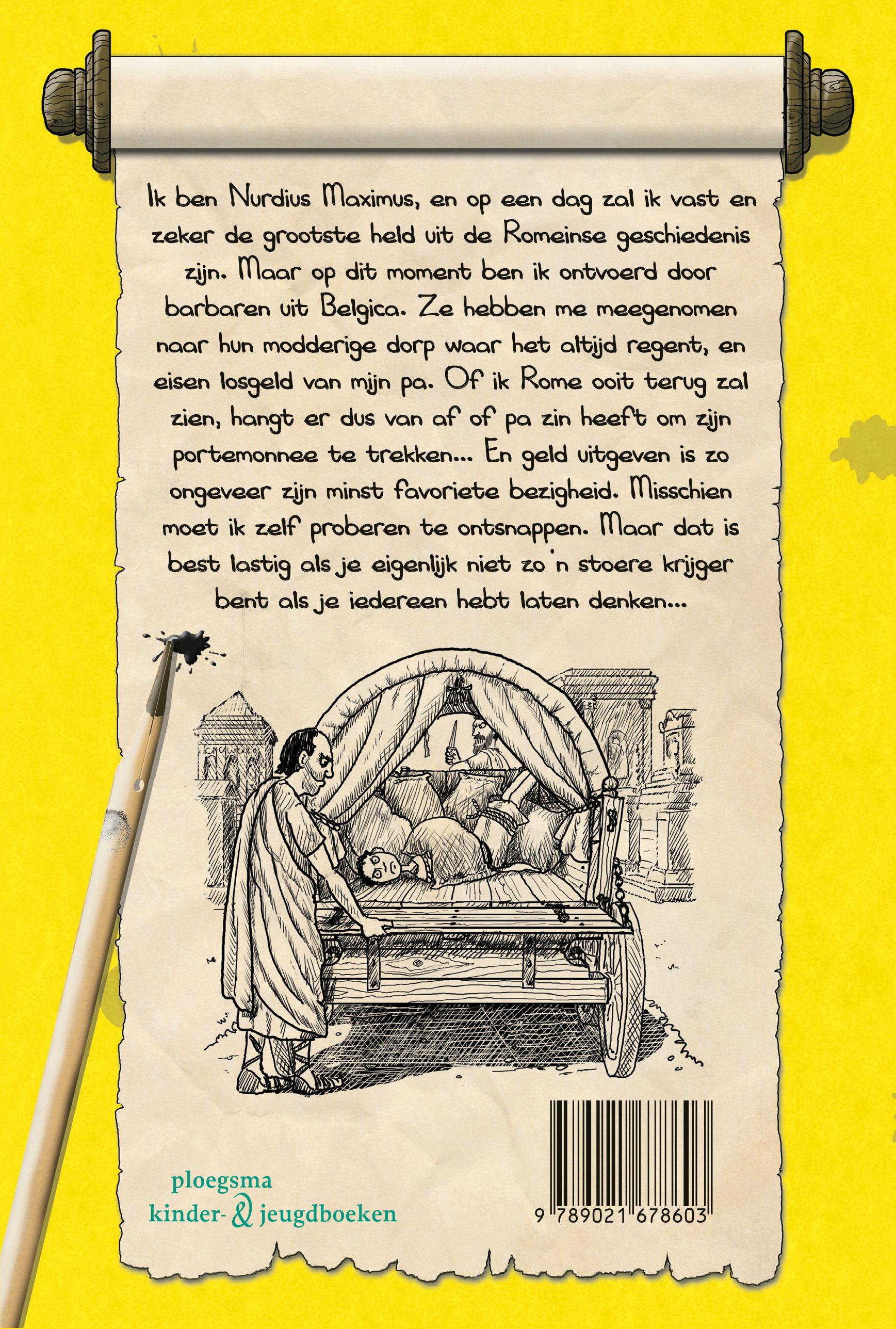 Het dagboek van Nurdius Maximus in Belgica