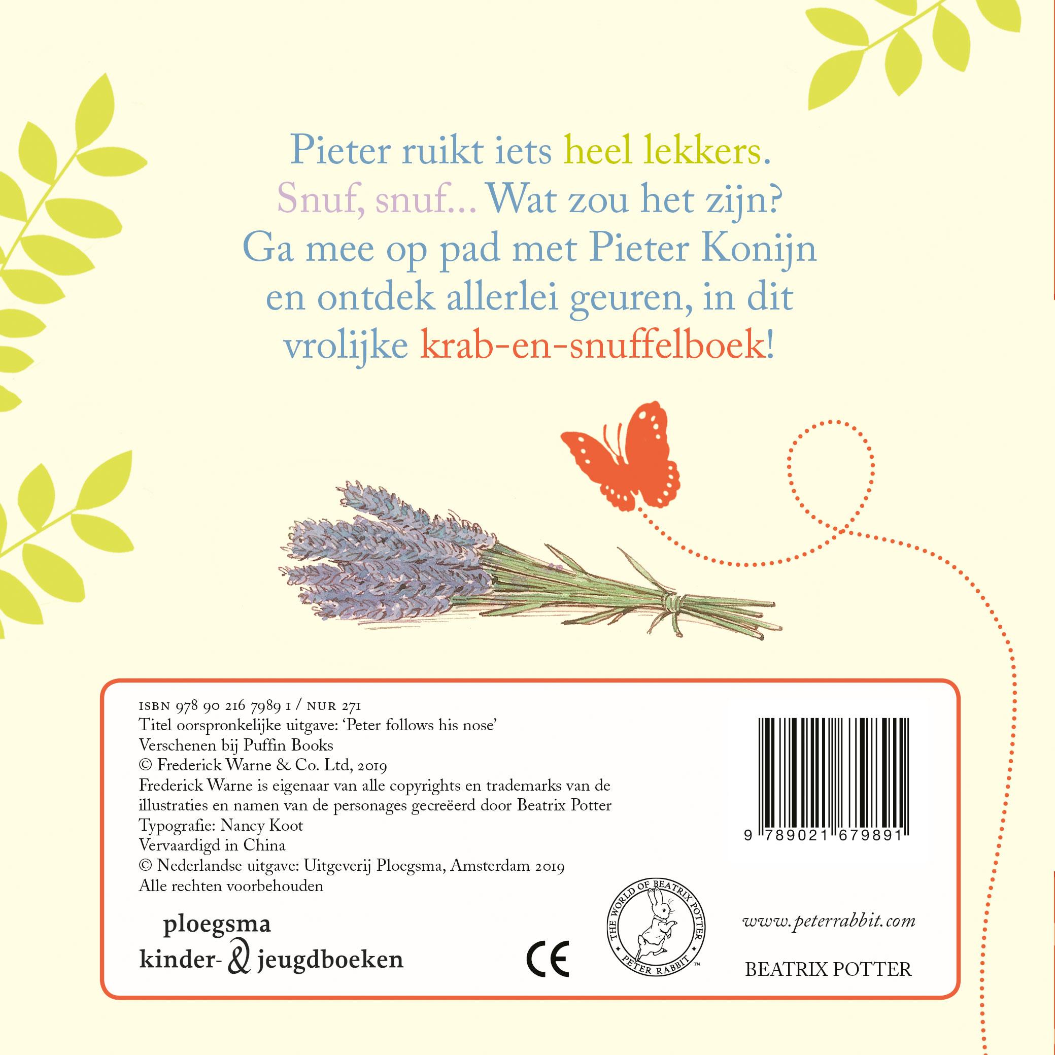 Pieter Konijn: Snuf, snuf…