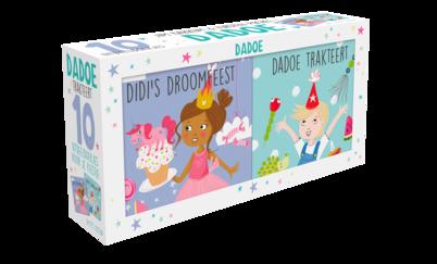 Dadoe – uitdeelboekjes