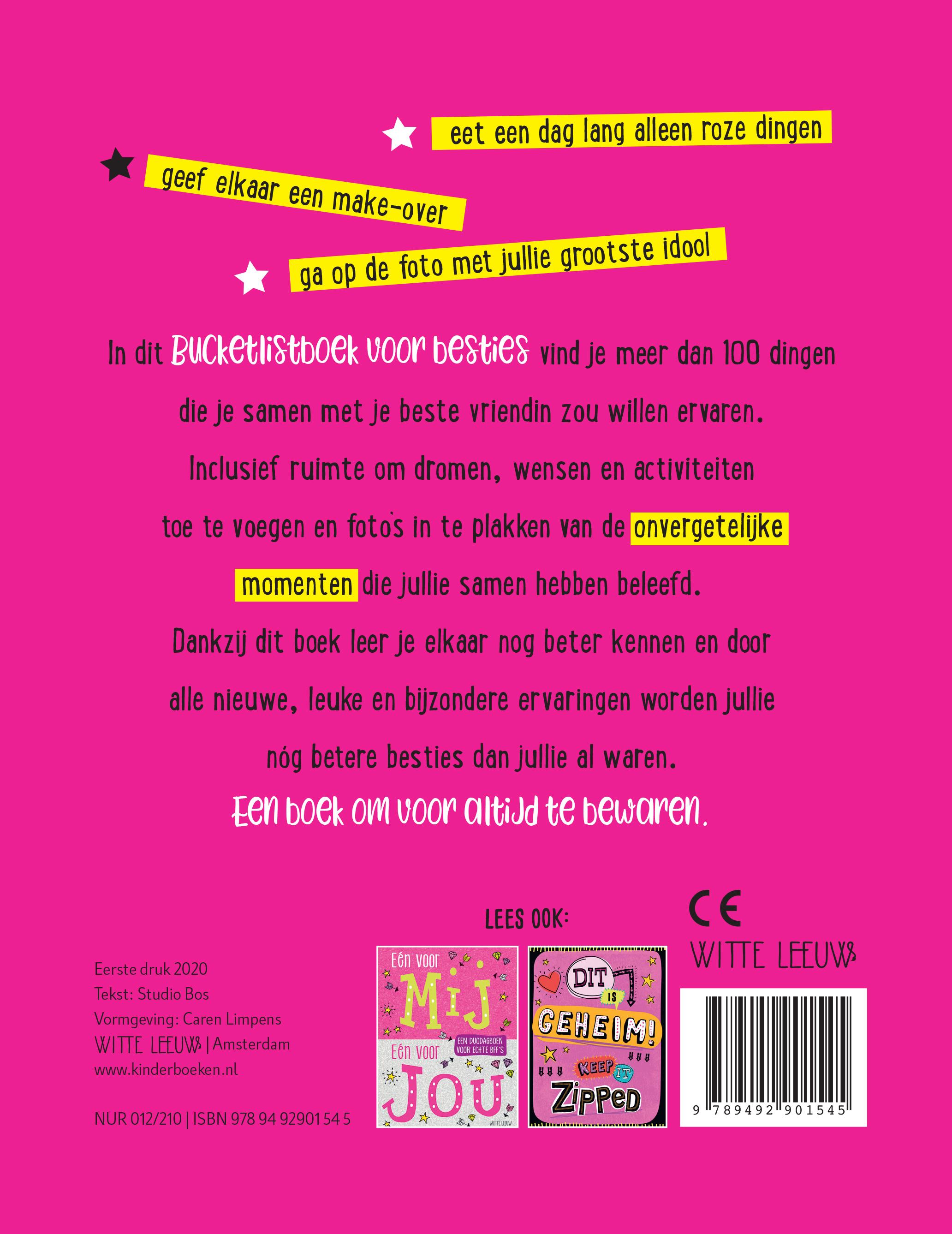 Bucketlistboek voor Besties